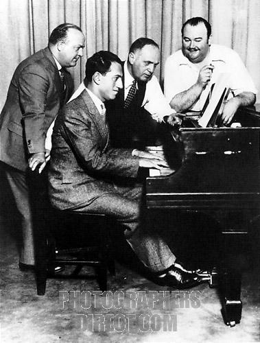 GROFE, Ferde  with Gershwin and Whiteman